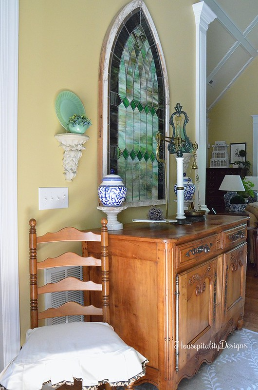 Foyer/Antique French Buffet - Housepitality Designs