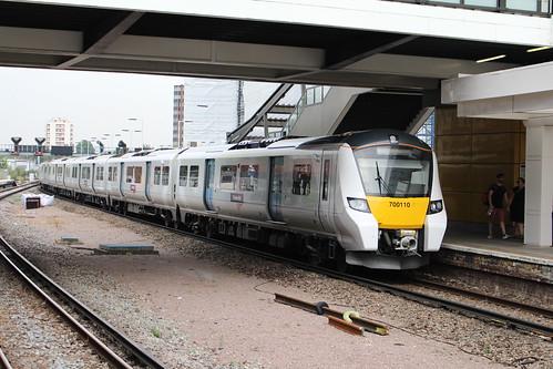 Thameslink 700110, East Croydon