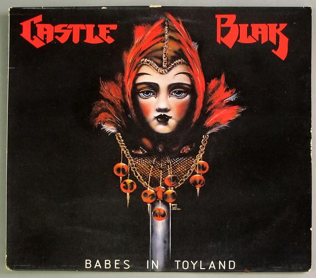 "CASTLE BLAK BABES IN TOYLAND 12"" LP VINYL"
