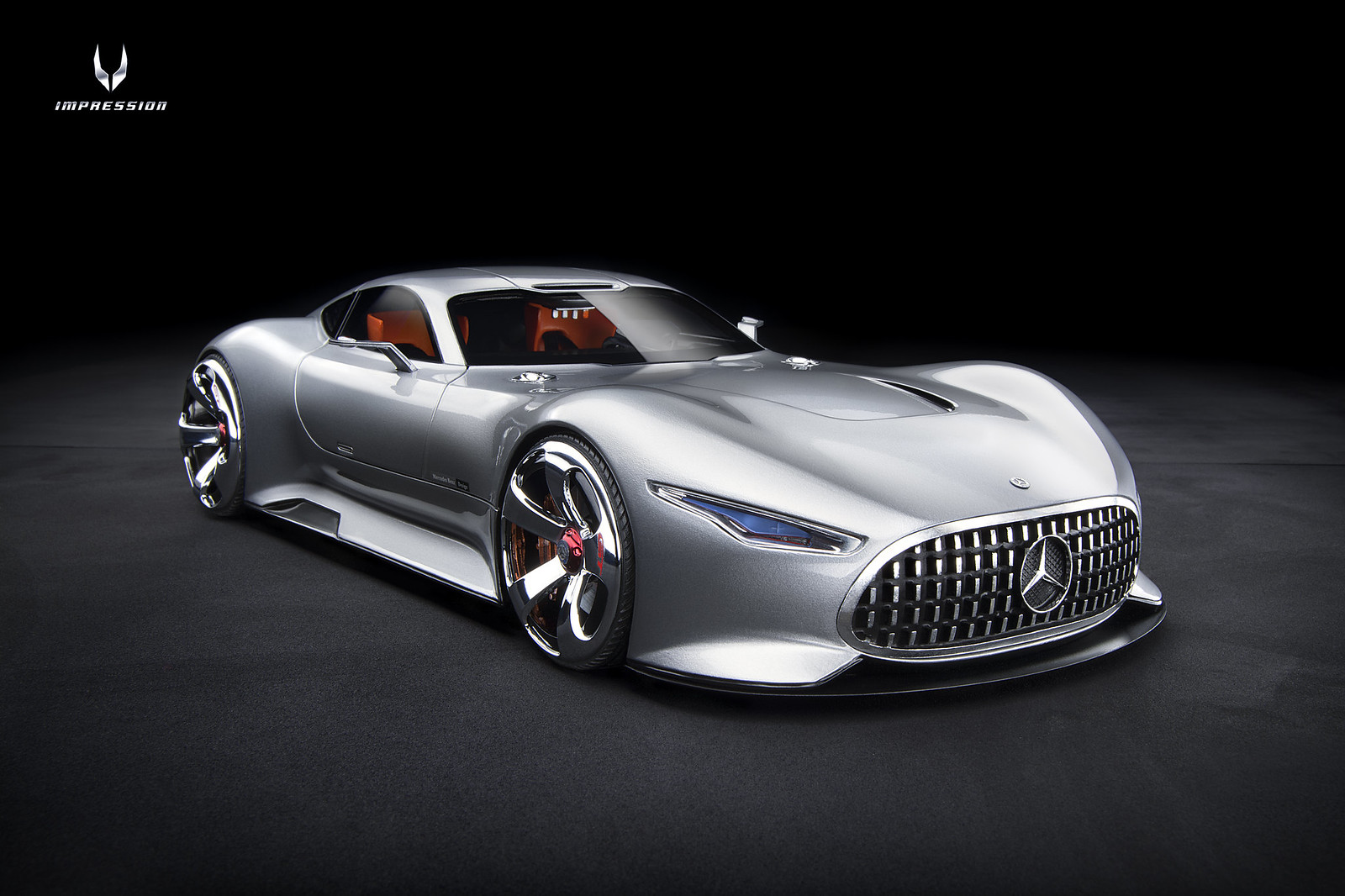 Model 777 1 18 Mercedes Benz Amg Vision Gran Turismo Resin