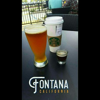 The Expresso Cloud IPA Beer at Starbucks Coffee Evenings Happy Hour in Fontana CA | by Dj Crazy Gabe