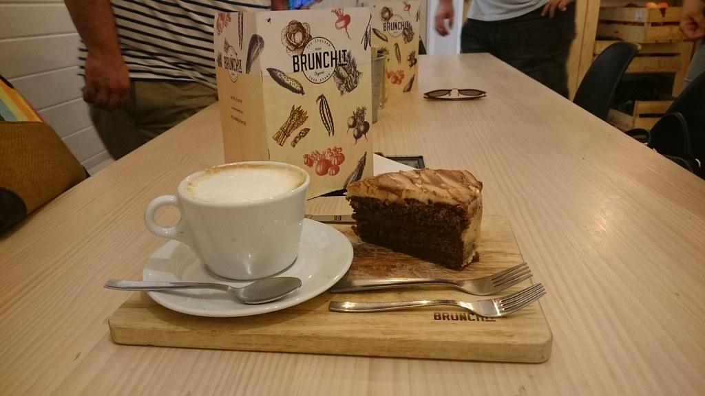 Tarta de café brunchit Organic