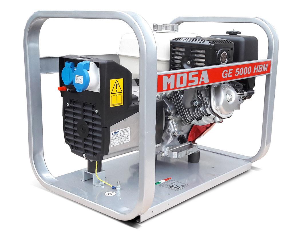 ge 5000 hbm mosa generatori motosaldatrici