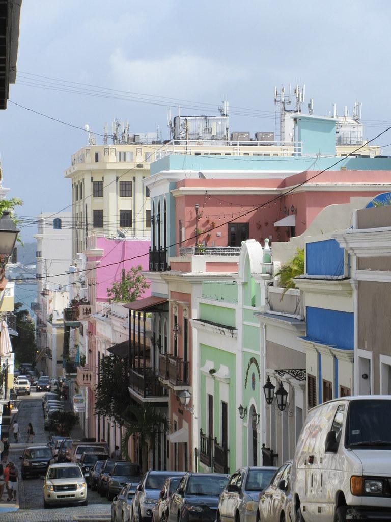 Colors Of Calle De La Cruz San Juan Puerto Rico Paul Mcclure