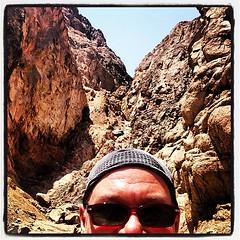 #trial #running in #dahab #canyon #aqaba #sinai #egypt #senzatimore