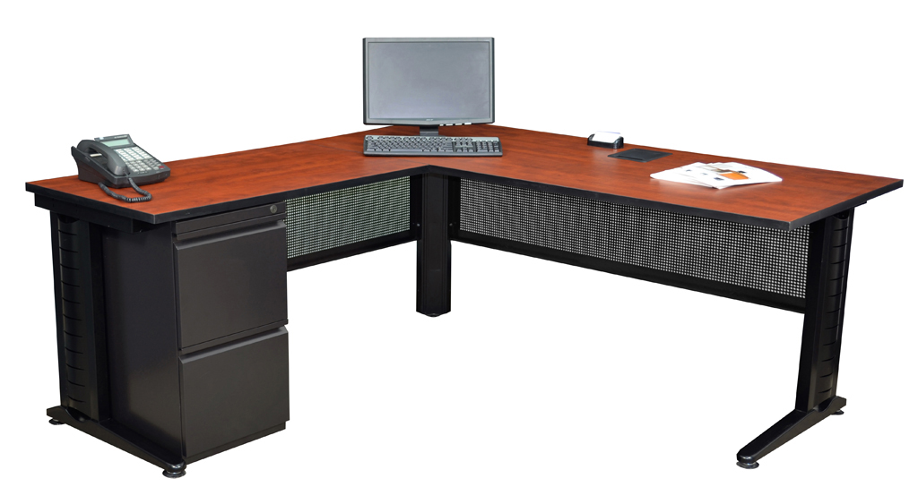 mlds723042ch mpff18us dpel2 72 l desk with 42 return