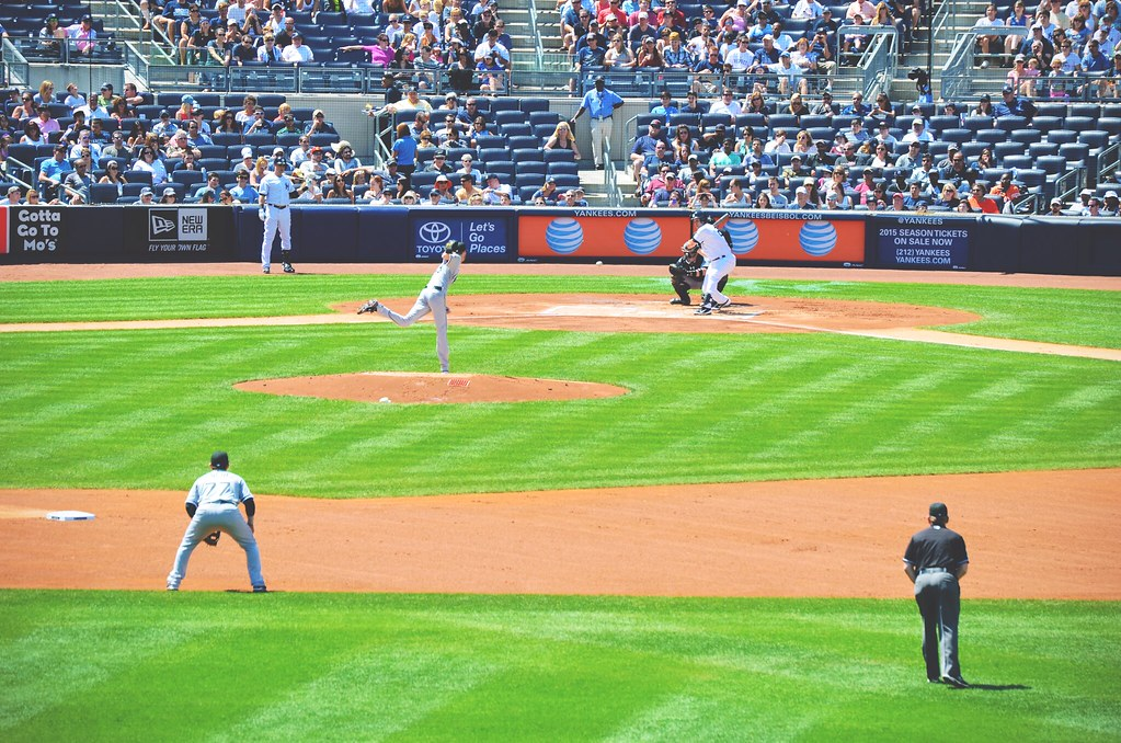 Watch a Yankees game when you're in New York City | via It's Travel O