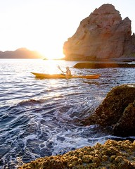 Dodging sea lions at sunrise.  #Mexico #bajacalifornia #seakayaking #fujifilm #xt1 #xphotographers #xseries #sunrise #baja