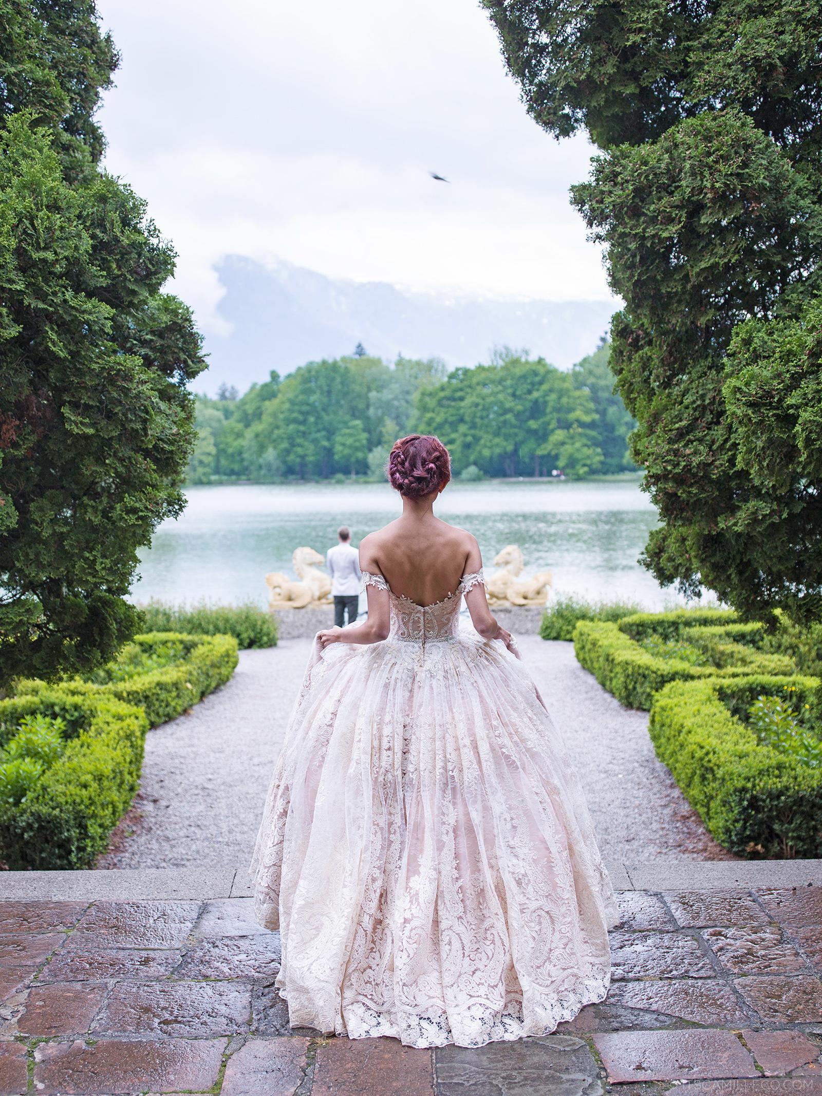 Camille Wedding Dress 17 Luxury Prewedding Shoot At Salzburg