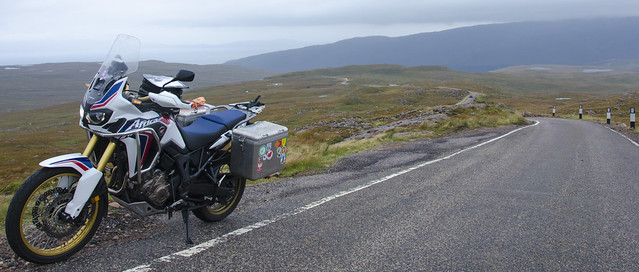 Bealach na Ba with the Africa Twin