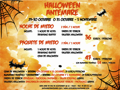Hotel Antemare - Cap de Setmana Halloween 2016