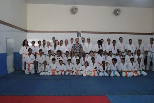 6º Exame de Faixa Kyokushin-ES