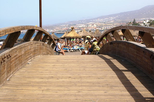 Bridge between Costa Adeje and La Americas, Tenerife