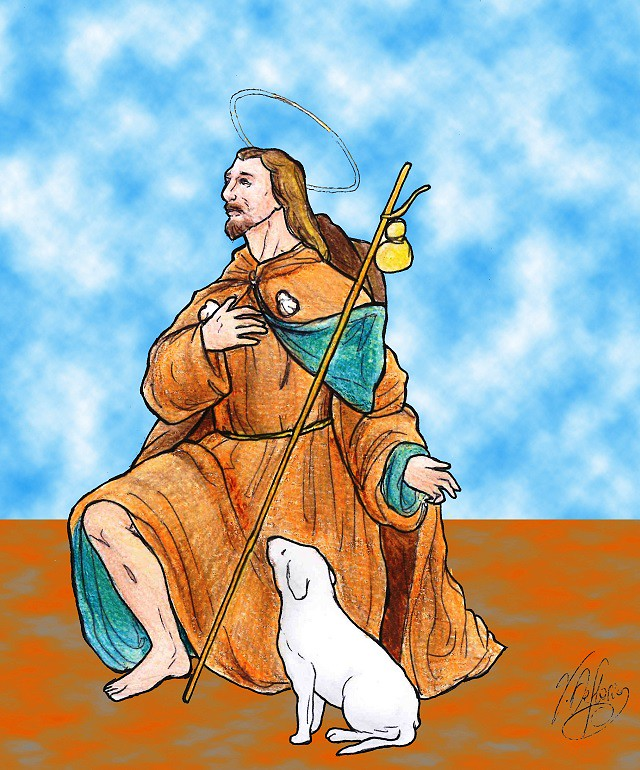 Noicattaro. Vignetta San Rocco intero