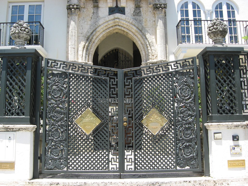 Gate Gianni Versace Mansion South Beach Phillip Pessar