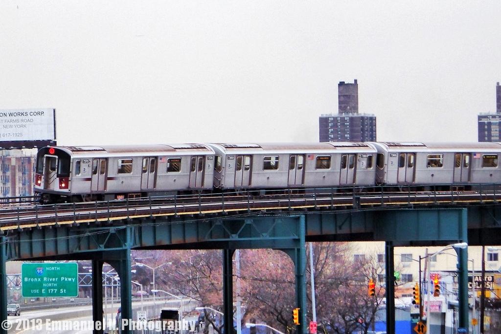 Mta Subway R142a 6 Train At Whitlock Ave Emmanuel