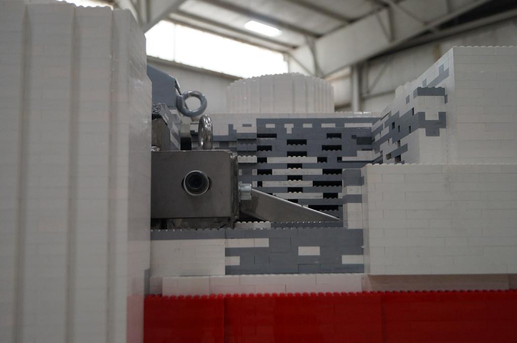 Life size LEGO X wing 12
