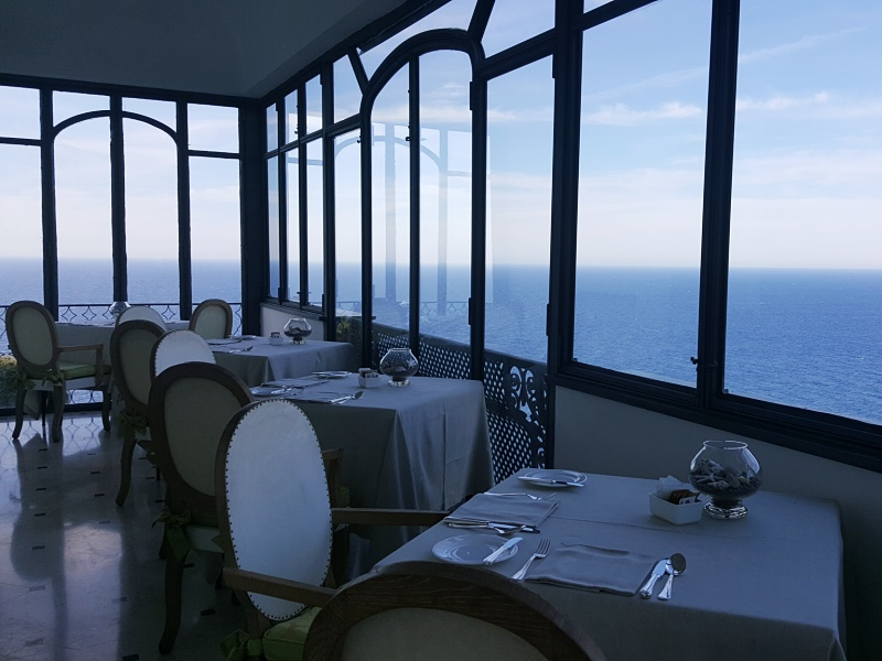 Punta Tragara restaurant