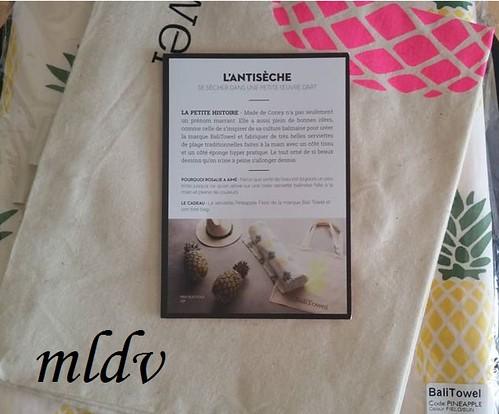 serviette Pineapple Field & tote bag Bali Towel