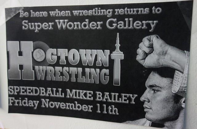 Nov 11th speedball mike bailey wrestler