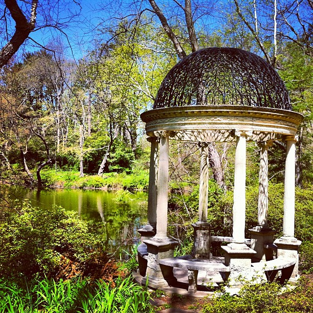 Old Westbury Gardens: Temple Of Love At Old Westbury Gardens #worldplaces #westb