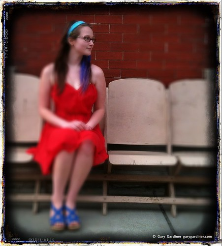 The girl in the red dress | by Gary Gardiner - Photographer