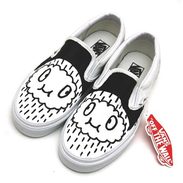 9faa142c9a ...  timrobot  custom  vans  slipons  vansshoes  customvans