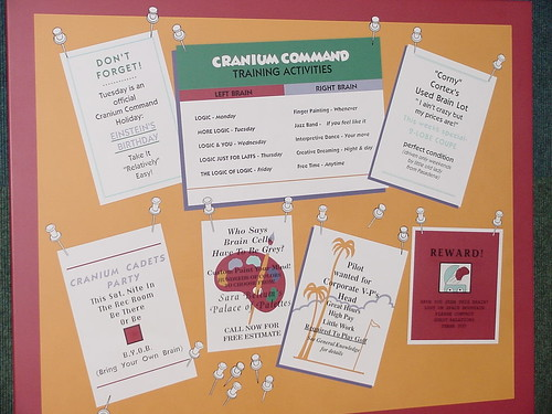 Cranium Command Bulletin Board | by Disney, Indiana