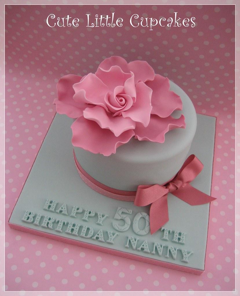 50th Birthday Cake Heidi Stone Flickr