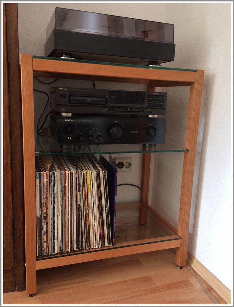 kundenfoto hifi rack quadra kirschbaum customer pic hi f flickr. Black Bedroom Furniture Sets. Home Design Ideas