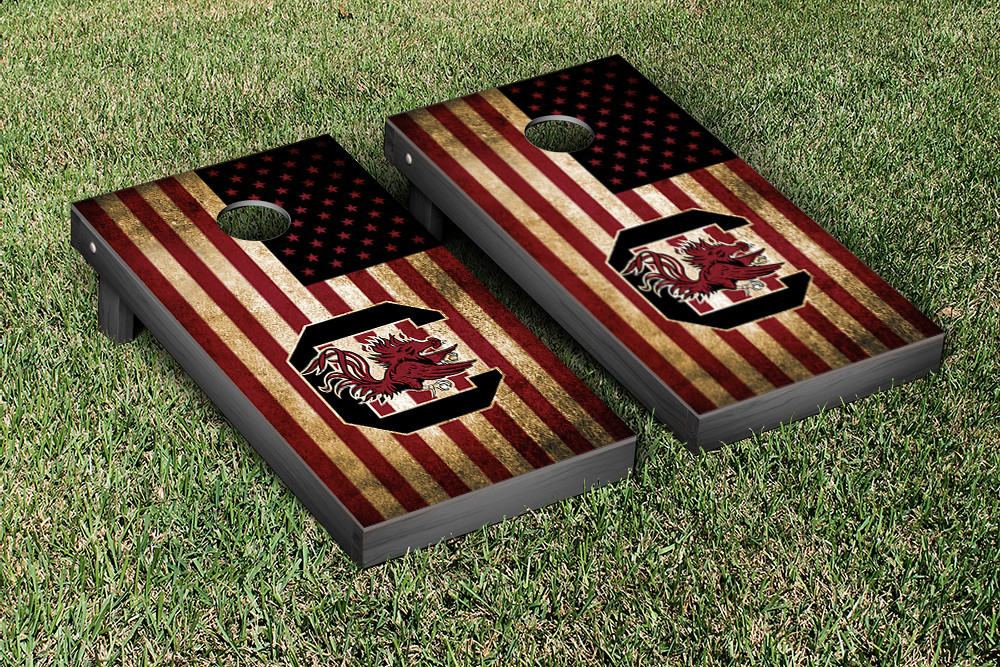 South Carolina Gamecocks Vintage Flag Version