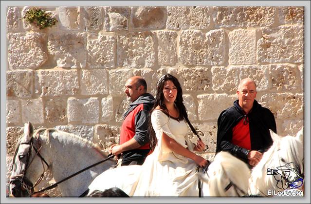 Fin de Semana Cidiano Ofrenda floral en la tumba del Cid (8)