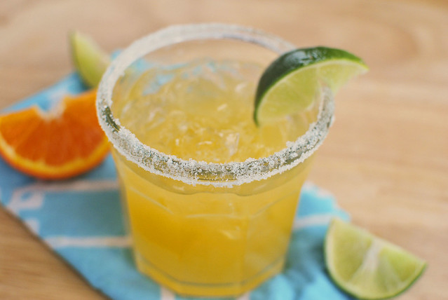Fresh Orange Margaritas