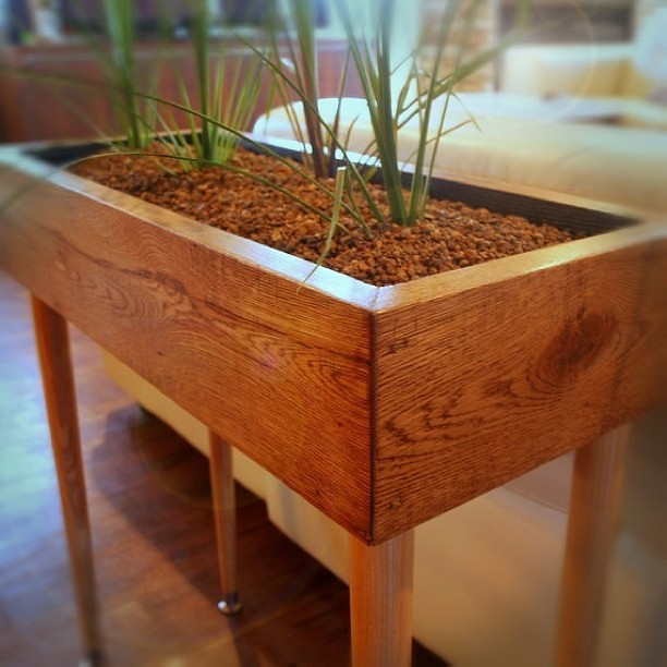 Modern Style Planter Box Table Custom Designed Handmade Fuu  Flickr