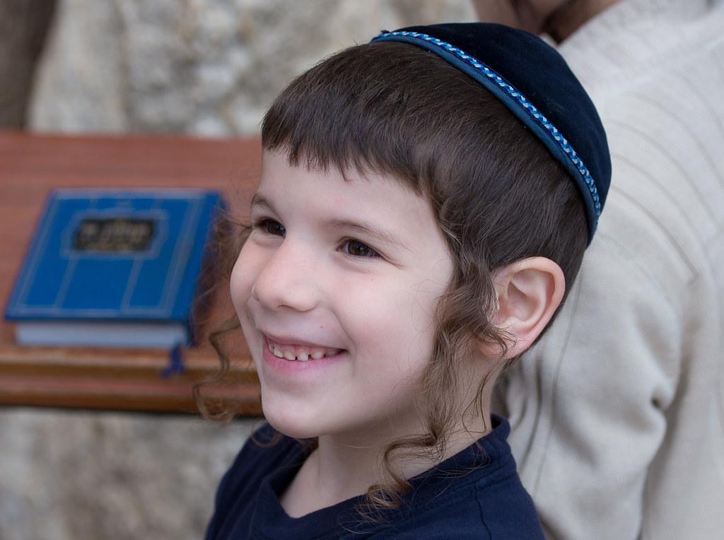 Jewish Boy Western Wall Jerusalem 天真无邪的孩子 Lyj Flickr