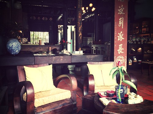 Delightful space and nice concept 'tis #HoiAn's Reaching Out silent tea house. #travel #vietnam