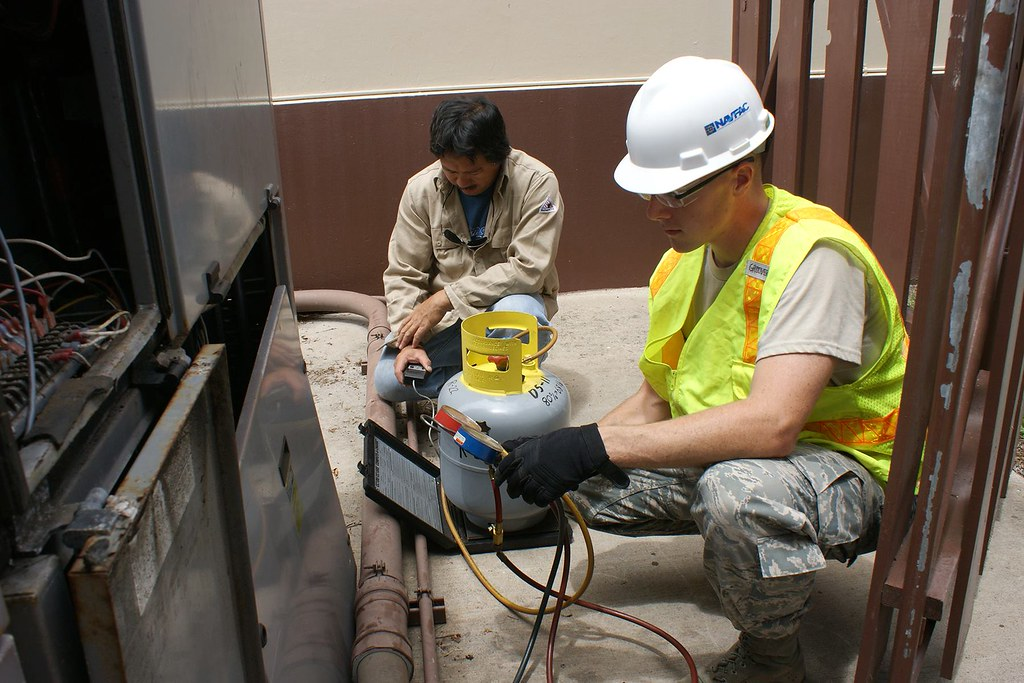 Navfac Hawaii Hvac Specialists Public Works Week Flickr