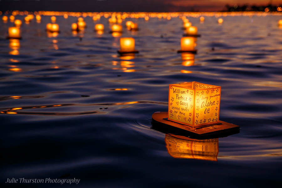 Japanese Floating Lantern Ceremony Memorial Day Hawaii