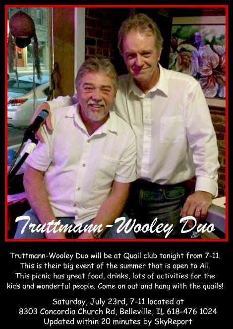 Truttmann-Wooley Duo 7-23-16