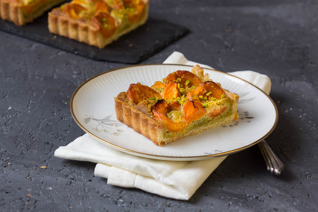 Aprikosen Pistazien Tarte via lunchforone.de