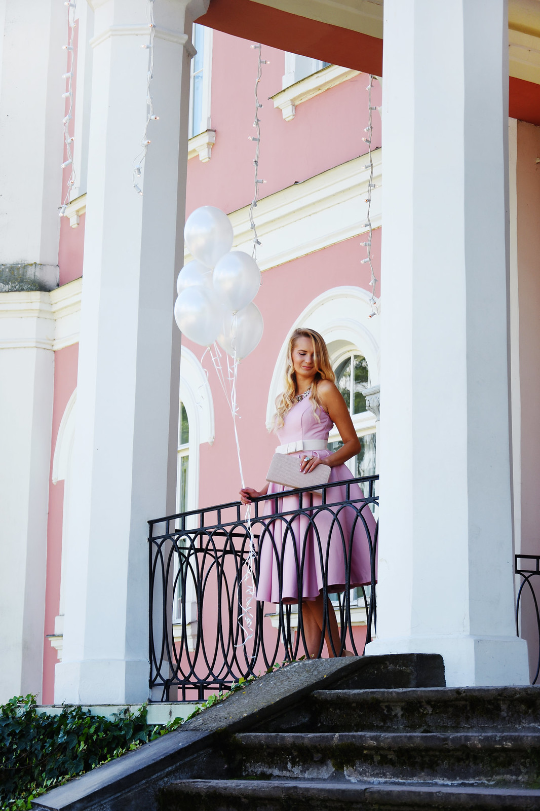 Fashion blogger from eastern Europe
