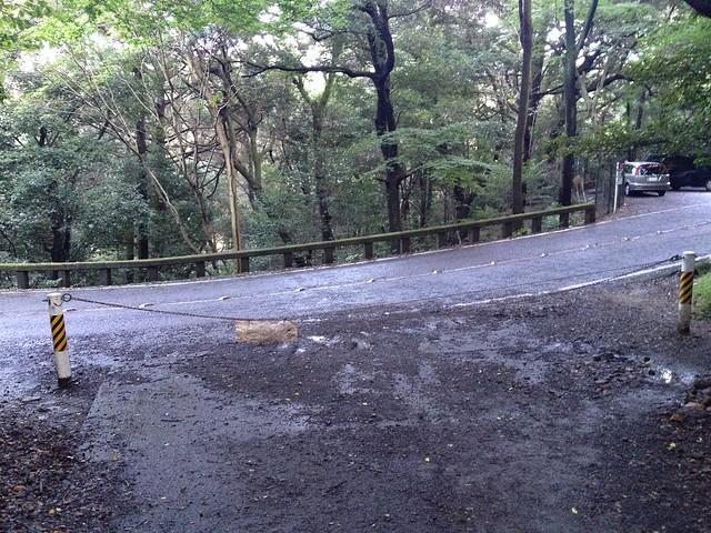 金華山 金華山ドライブウェイ合流