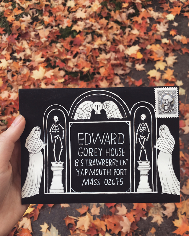 edward gorey envelope contest