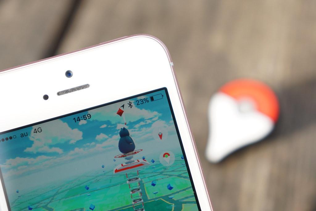 Pokémon GO Plus発売時の行列