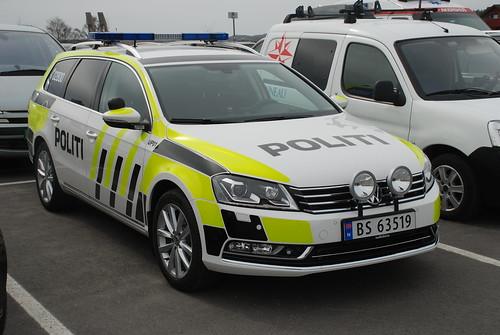 Norwegian Vw Passat Police New Colors Vw Passat New