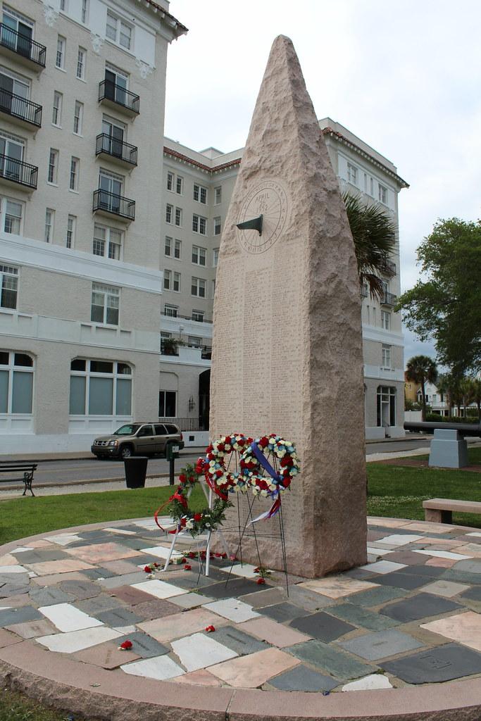 Charleston Naval Base >> Charleston - White Point Garden: USS Hobson Memorial | Flickr