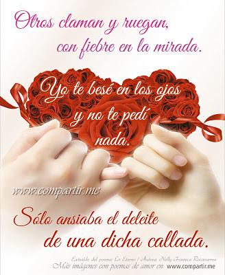 Frases De Amor Poema Corto De Amor En Silencio Ver Imag Flickr