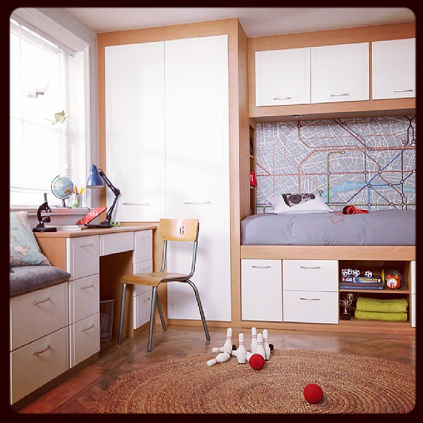 Cabin Bedroom Fitted Furniture: Comfortable Cabin Beds And Fitted Wardrobes, Our Children