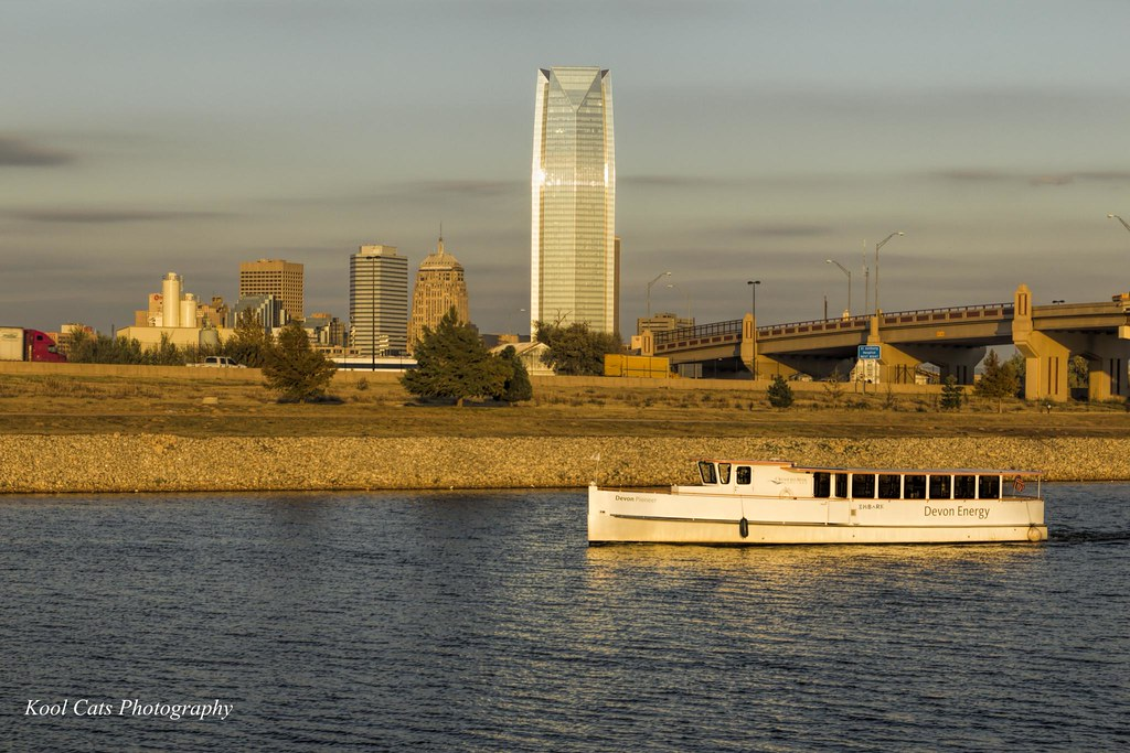 the boat cruise cruise along the oklahoma river in