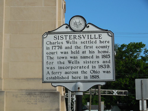 Sistersville Historic Marker | by jimmywayne